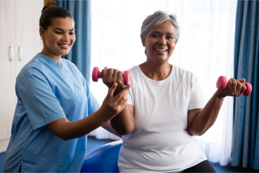 helping-senior-residents-with-exercise